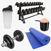 Kolekcja siłowni 3d model