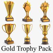 Pakiet Gold Trophy 3d model