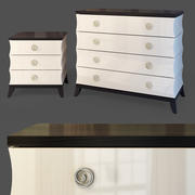 Evelyn.Dresser nightstand 3d model