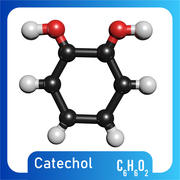 Modelo 3D Catechol Modelo C6H6O2 3D modelo 3d