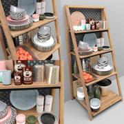 Accesorios de cocina modelo 3d