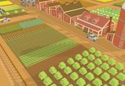 農場資産 3d model