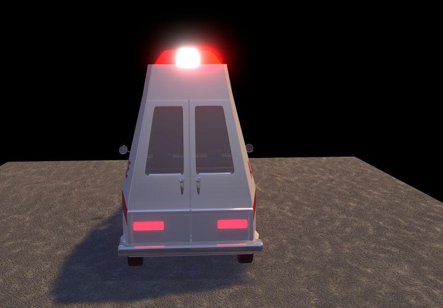 Coche de ambulancia royalty-free modelo 3d - Preview no. 6