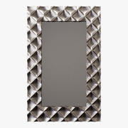 Howard Elliott coleção krystal luminosos prateado espelho 3d model