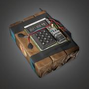 Dispositivo explosivo 1 (BHE) - Juego PBR listo modelo 3d