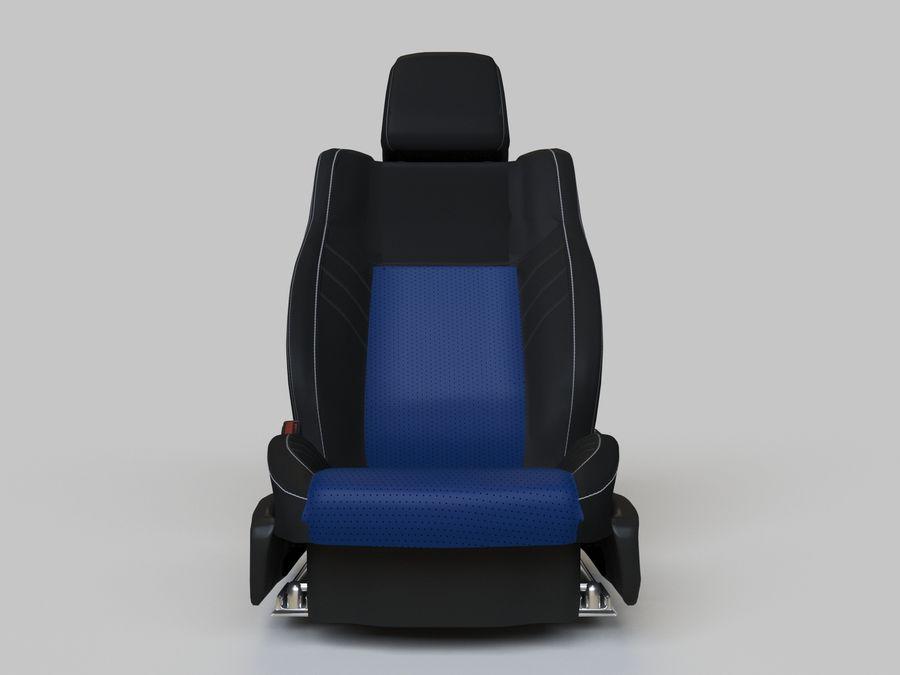 Car Seats royalty-free 3d model - Preview no. 5