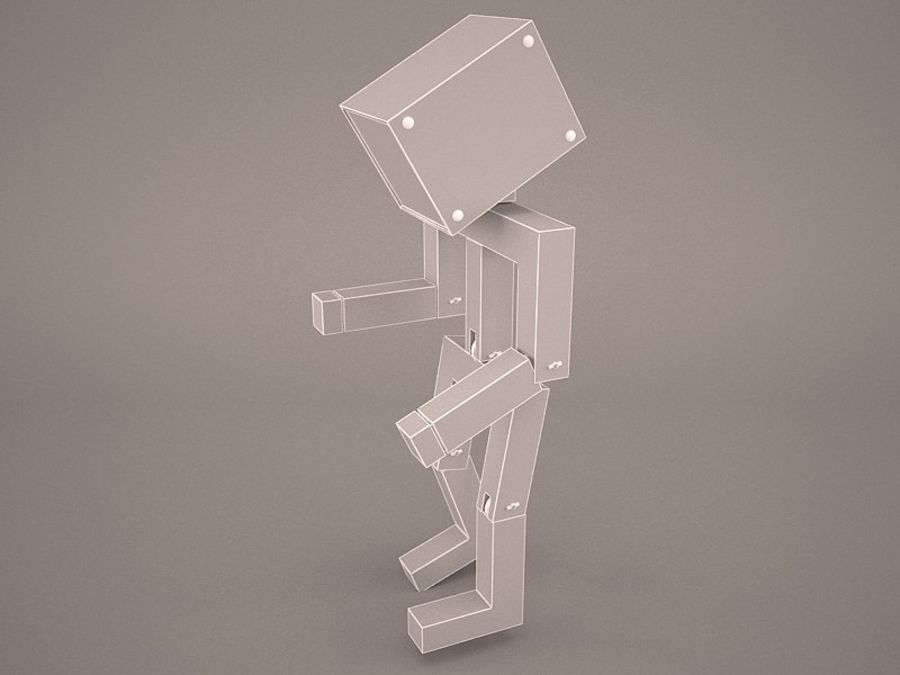 Droid Design Table Lamp royalty-free 3d model - Preview no. 7