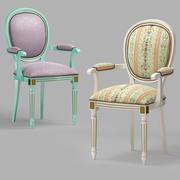 Klassischer Stuhl s104L ami amadeus 3d model