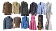 Kläder för garderob 3d model