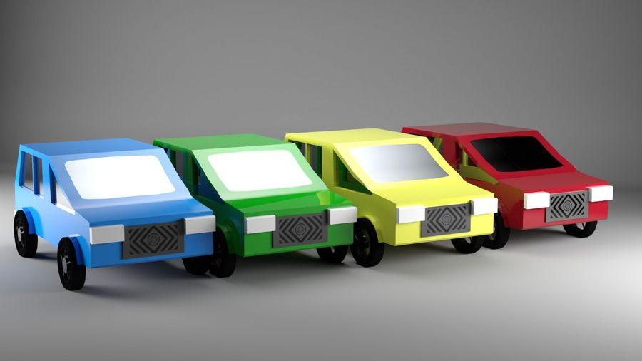 低聚汽车 royalty-free 3d model - Preview no. 1