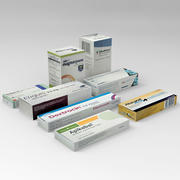 Medicin Pack 3d model