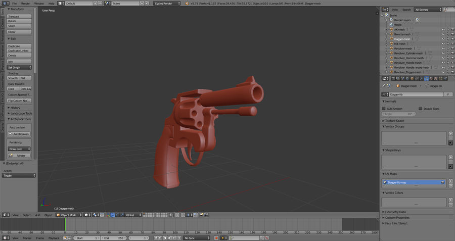 Moderne Waffen royalty-free 3d model - Preview no. 7