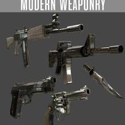 Modern Silahlar 3d model