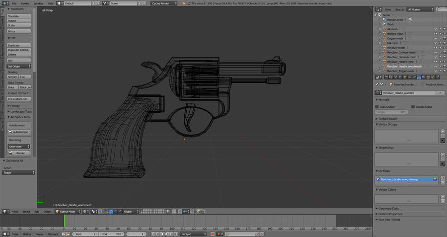 Moderne Waffen royalty-free 3d model - Preview no. 13