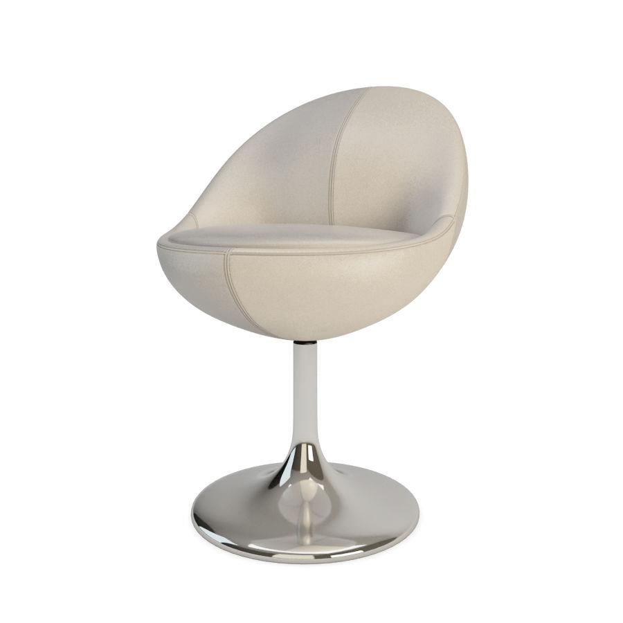 안락 의자와 바 의자 금성 가구 royalty-free 3d model - Preview no. 2