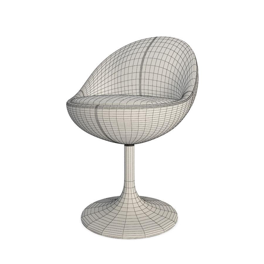 안락 의자와 바 의자 금성 가구 royalty-free 3d model - Preview no. 3