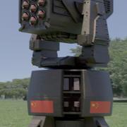 군 포탑 3d model