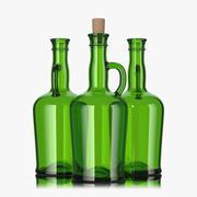 butelka 750 ml 3d model