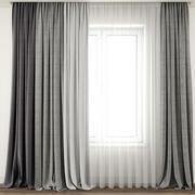 Curtain 70 3d model