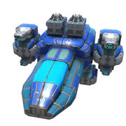 Space Fighter (1) 3d model