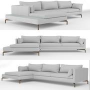 Риф диван 3d model