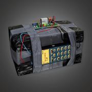 Dispositivo explosivo 2 (BHE) - Juego PBR listo modelo 3d