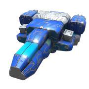 宇宙爆撃機 3d model
