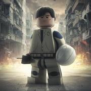 Lego Character 3d model