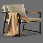 Globewest Antigue Armchair 3d model