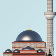 Mezquita Otomana modelo 3d