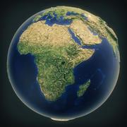 地球高聚 3d model