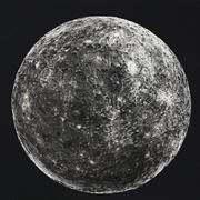 Mercury High Poly 3d model