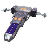 Combattente spaziale leggero 3d model