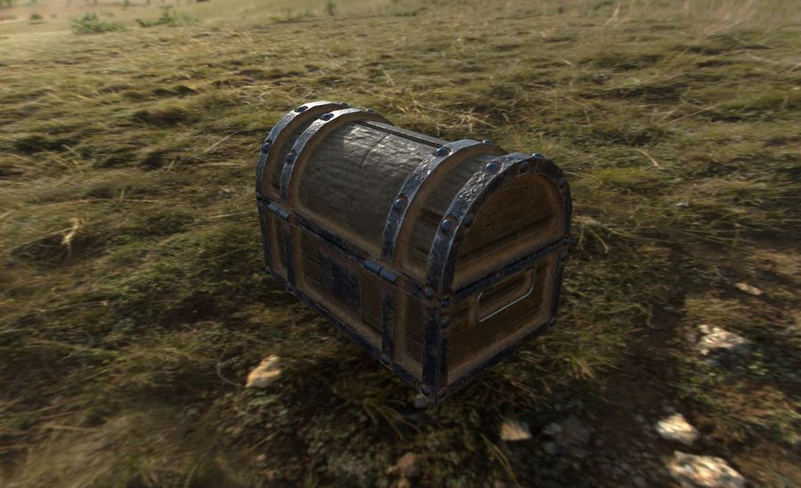 Chest royalty-free 3d model - Preview no. 4