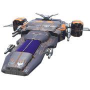 우주 전투기 3d model