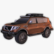 Nissan Armada Off-Road Build 3d model