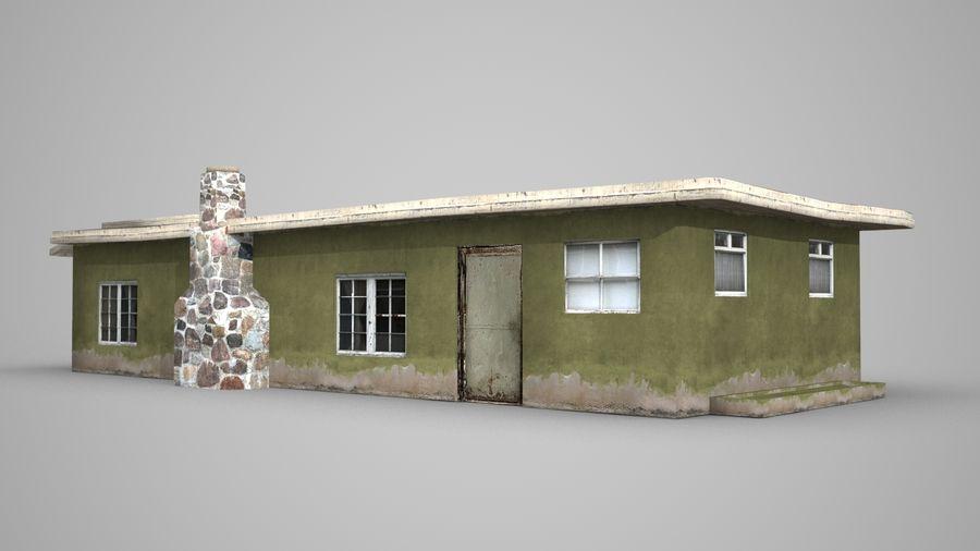 现代建筑小屋 royalty-free 3d model - Preview no. 1