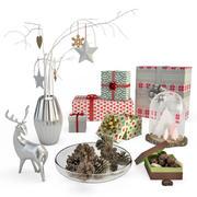 クリスマスの飾り 3d model