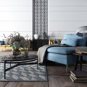 Aspen Home - Realistyczna scena 3d model