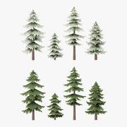 Pine Tree Pack G15 3d model