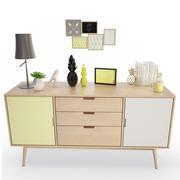 Cômoda para móveis de verão 3d model