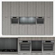 厨房花式家具 3d model