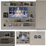 Мебель для кухни Полиформ Варенна 3d model