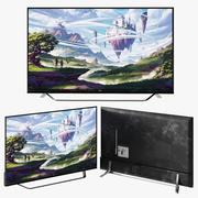 LG TV Akıllı Plazma 65UF850V 3d model