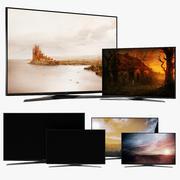 Samsung Smart TV 4 Modelleri 3d model