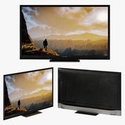 Sharp LC Smart Tv Aquos 3d model