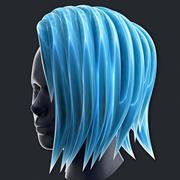 Iskligt hår 3d model