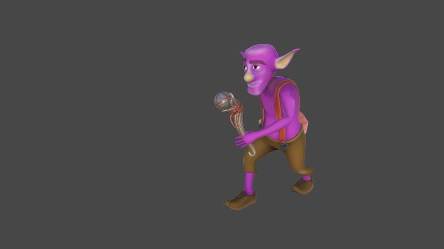 Goblins - personagens com animações royalty-free 3d model - Preview no. 5