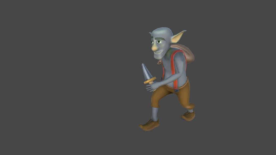 Goblins - personagens com animações royalty-free 3d model - Preview no. 6
