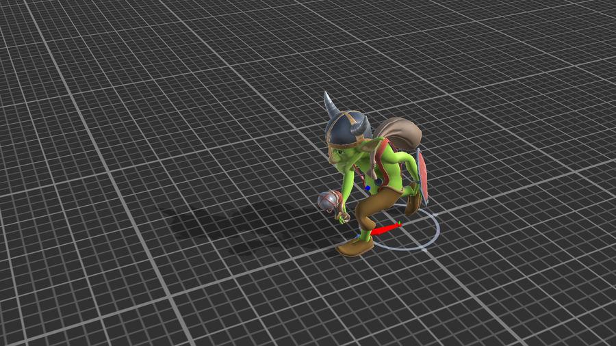 Goblins - personagens com animações royalty-free 3d model - Preview no. 8